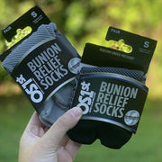 OS1st BR4 Bunion Relief Socks Black