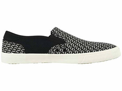 Toms Mens Baja Slip Ons Topanga Collection Black Pattern Print