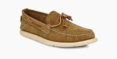UGG Mens Beach Moc Slip-On Caramel