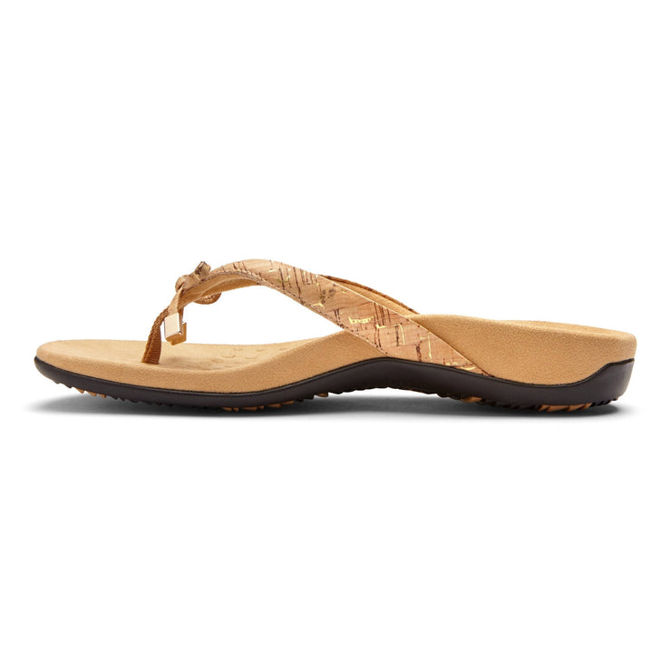 Vionic Womens Bella II Gold Cork