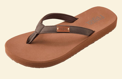 Flojos Womens Billie Brown Tan