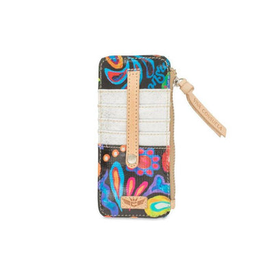 Consuela Card Organizer Sophie Black Swirly