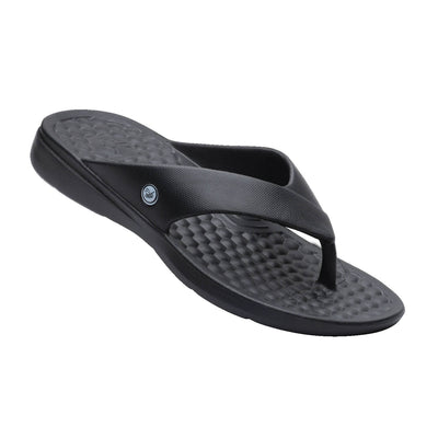Joybees Mens Casual Flip Black