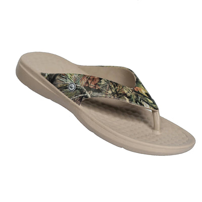 Joybees Mens Casual Flip Mossy Oak Break Up Country