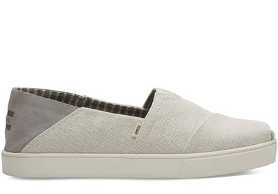 Toms Mens Classic Birch Heritage Canvas Convertible Cupsole