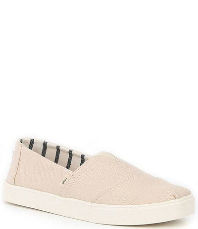 Toms Mens Classic Cupsole Natural Heritage Canvas