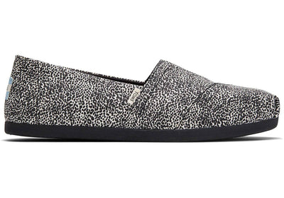Toms Womens Classic Mini Leopard Print Canvas