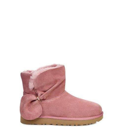 UGG Womens Classic Mini Twist Pink Dawn