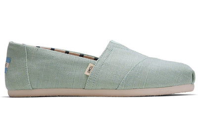 Toms Womens Classic Mint Heritage Canvas