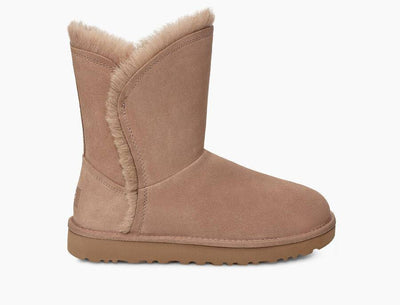 UGG Womens Classic Short Fluff High Low Amphora