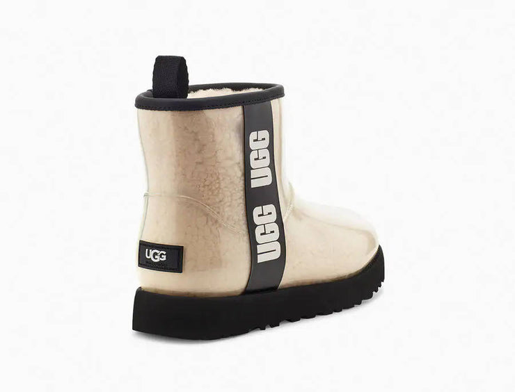 UGG Womens Classic Clear Mini Natural Black