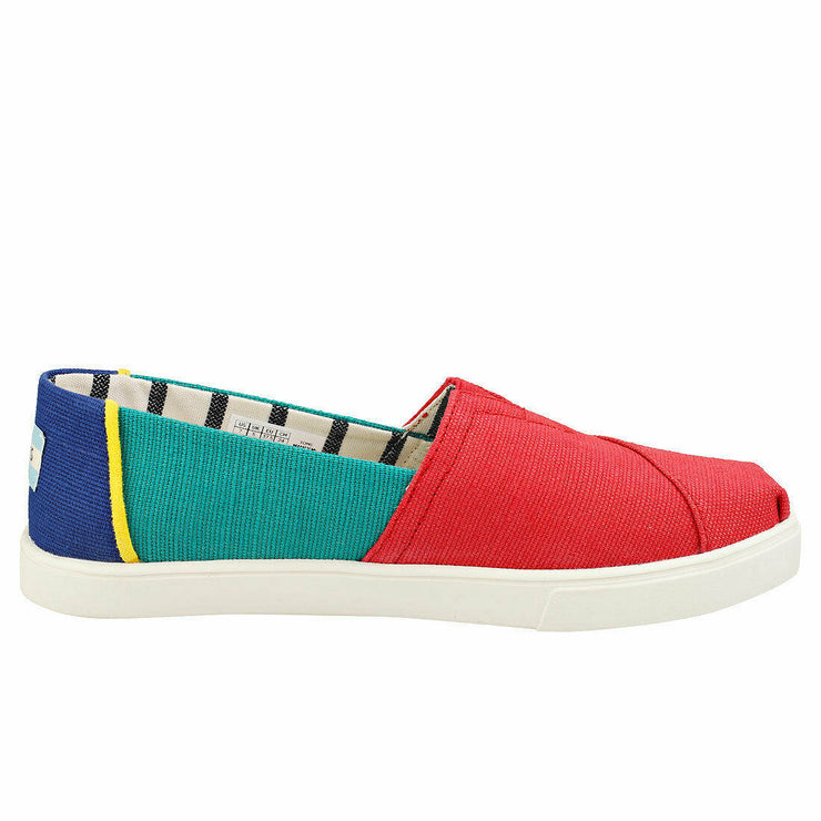 Toms Womens Multi Color Heritage Canvas Cupsole