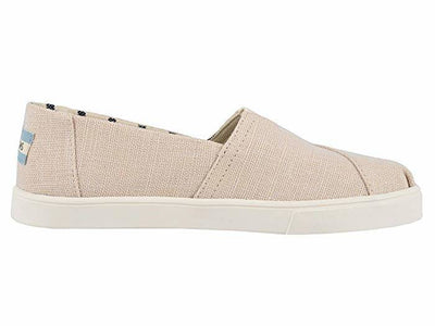 Toms Womens Cupsole Alpargatas Natural Heritage Canvas