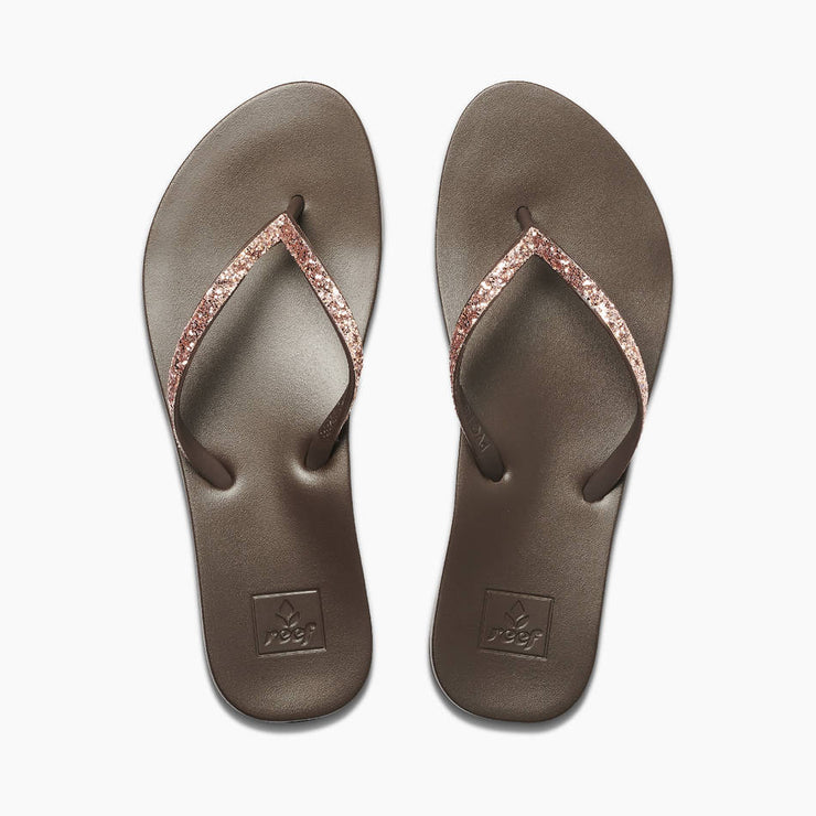 Reef Womens Cushion Bounce Stargazer Rose Gold