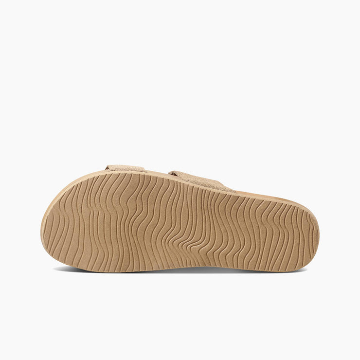 Reef Womens Cushion Bounce Vista Suede Biscotti