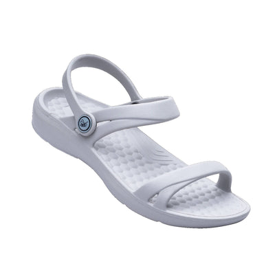 Joybees Womens Dance Sandal Light Grey