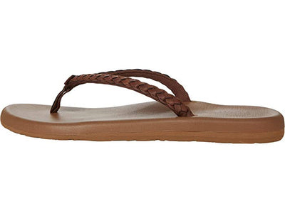 Flojos Womens Delaney Brown Tan