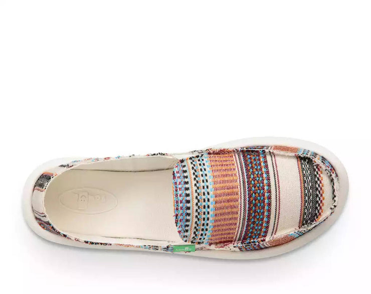 Sanuk Womens Donna Tribal Natural Multi