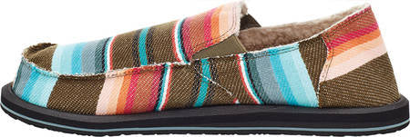 Sanuk Mens Donny Chill Olive Blanket