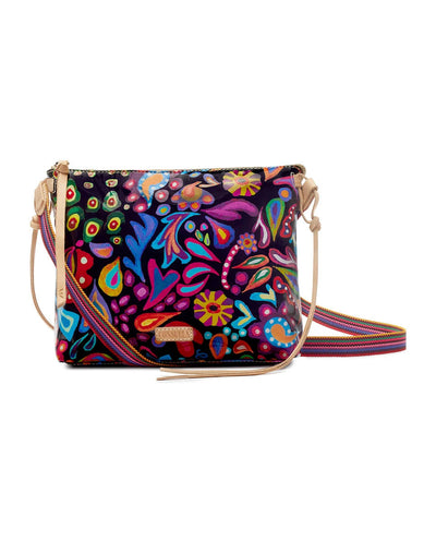 Consuela Downtown Crossbody Sophie Black Swirly