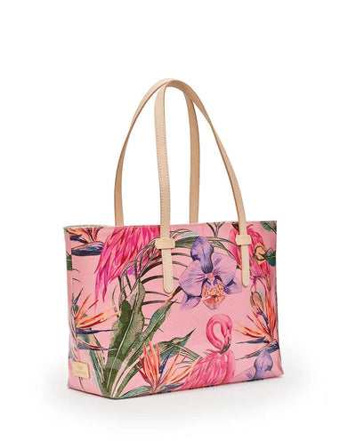 Consuela East West Tote Brynn Flamingo