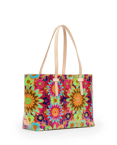 Consuela East West Tote Trista Busy Floral