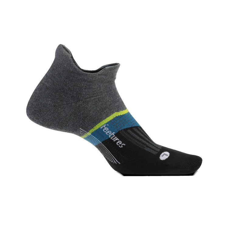Feetures Elite Max Cushion No Show Tab Brickyard Grey