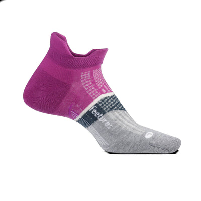 Feetures Elite Max Cushion No Show Tab Purple Addict