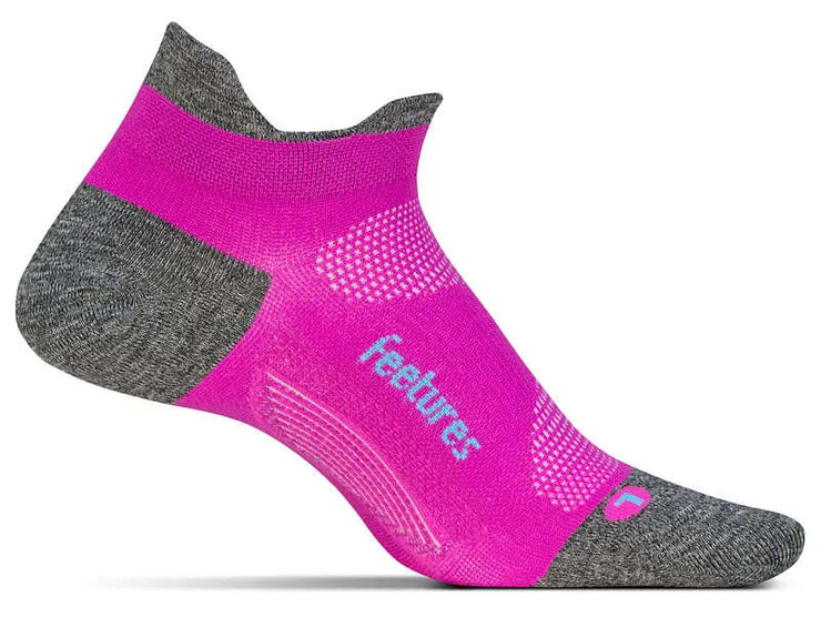 Feetures Elite Ultra Light No Show Tab Power Fuschia Pop