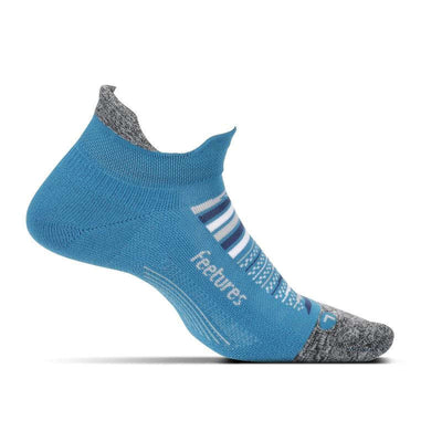 Feetures Elite Light Cushion No Show Tab Maui Blue