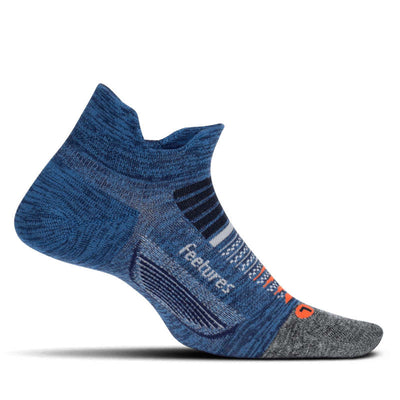 Feetures Elite Light Cushion No Show Tab Nebula Navy