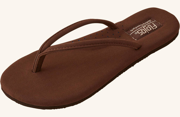 Flojos Womens Fiesta 2.0 Brown
