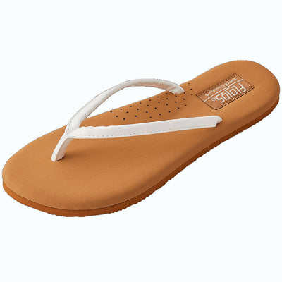 Flojos Womens Fiesta 2.0 White Tan