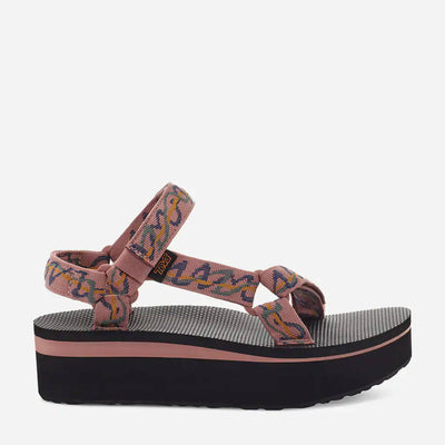 Teva Womens Flatform Universal Ziggy Rose Tan