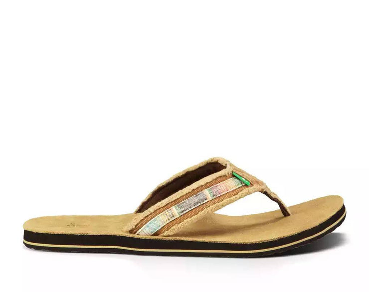 Sanuk Mens Fraid So Tan Multi