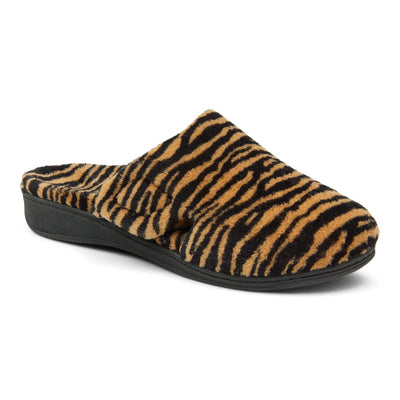 Vionic Womens Gemma Slipper Tiger Natural