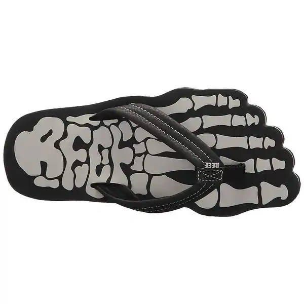 Reef Kids Grom Skeleton Grey