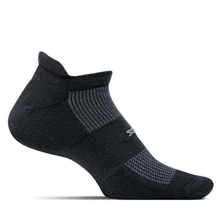 Feetures High Performance Ultra Light No Show Tab Black