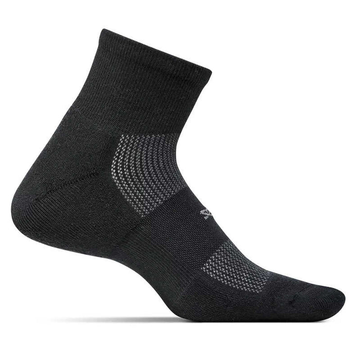 Feetures High Performance Ultra Light Quarter Black