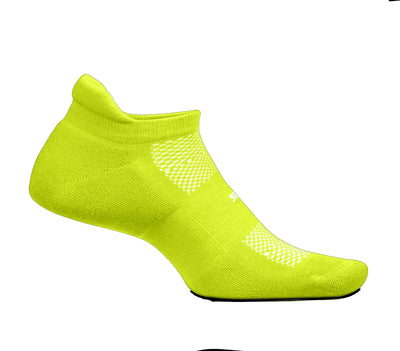 Feetures High Performance Ultra Light No Show Tab Bio Lime