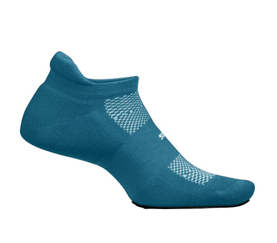 Feetures High Performance Ultra Light No Show Tab Digital Teal
