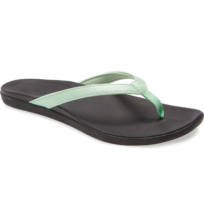 Olukai Womens Ho'opio Mint Black