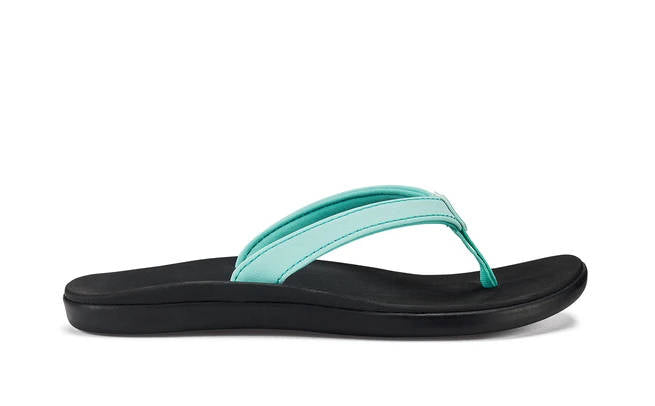 Olukai Girls Ho'opio Lagoon Black