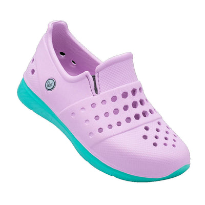 Joybees Kids Splash Sneaker Lavender Teal