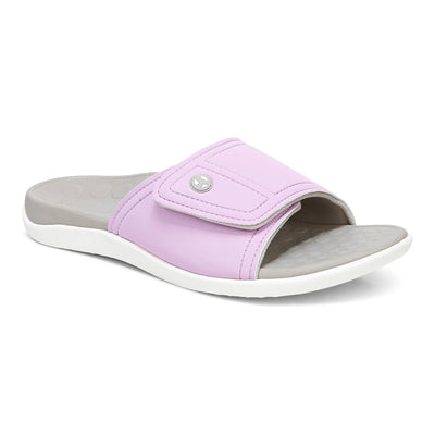 Vionic Womens Kiwi Slide Orchid Purple