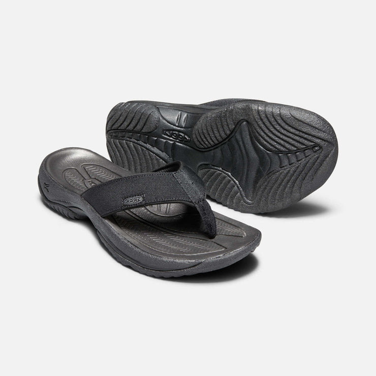 Keen Mens Kona Flip II Black Steel Grey