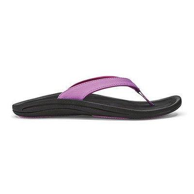 Olukai Womens Kulapa Kai Dragon Fruit Black
