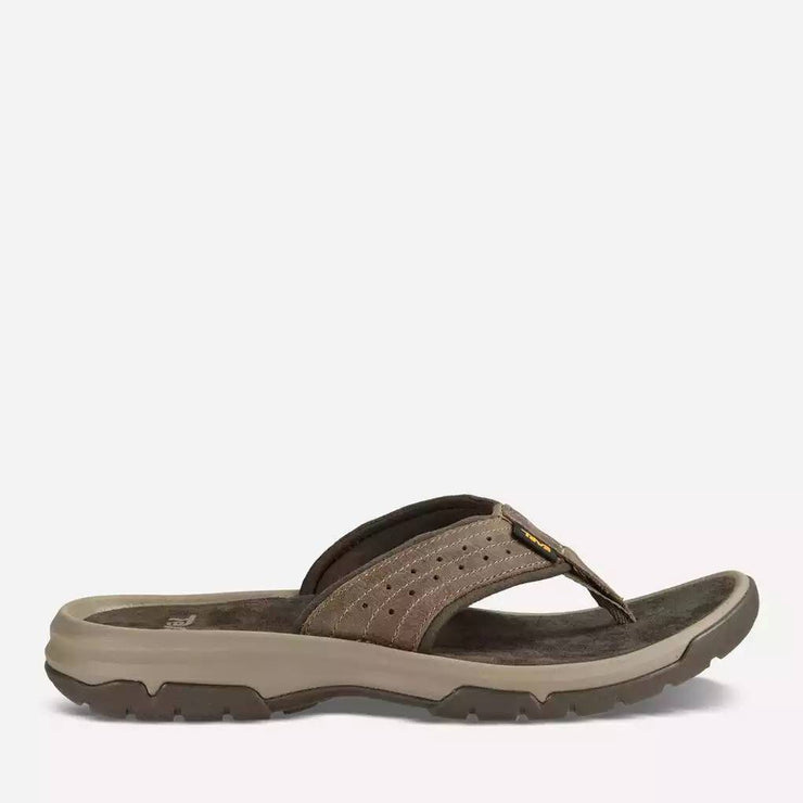 Teva Mens Langdon Flip Walnut