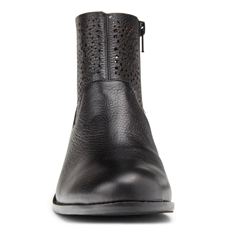 Vionic Womens Luciana Ankle Boot Black