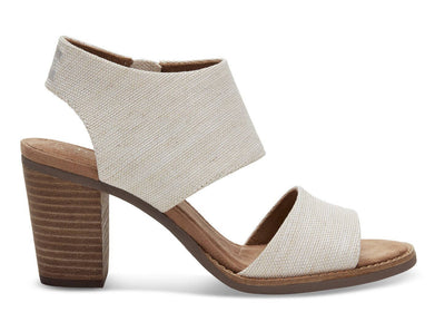 Toms Womens Majorca Cutout Sandals Natural Yarn Dye